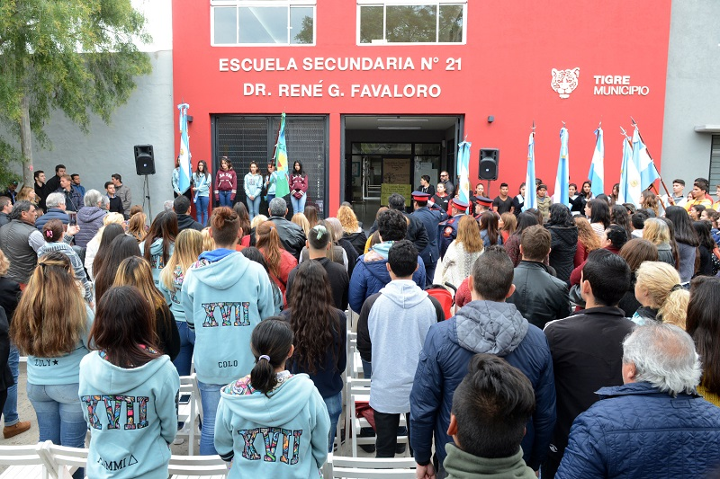 La obra financiada con fondos municipales beneficia a más de 180 estudiantes.
